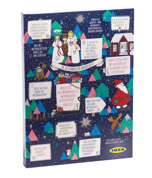 der kult adventskalender von ikea 2016. Black Bedroom Furniture Sets. Home Design Ideas