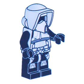 Lego-StarWars-Anleitung-SCOUT TROOPER