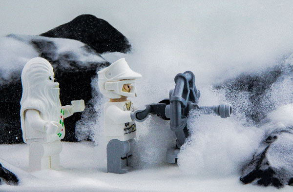 Hoth Dish Canon Lego Star Wars Adventskalender 2016