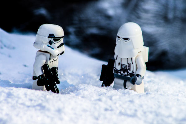Storm- und Snowtrooper Lego Star Wars Adventskalender 2016