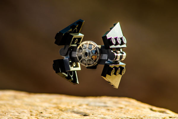 TIE Interceptor Lego Star Wars Adventskalender 2016