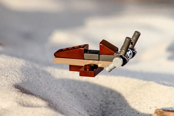 Desert Skiff Lego Star Adventskalender 2016