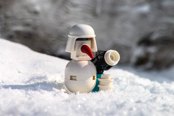 Schneemann - Lego Star Wars Adventskalender 2016