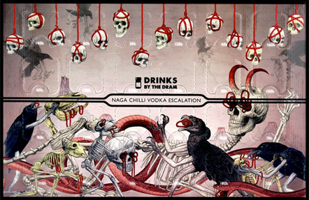 Adventskalender Naga Chilli Vodka Escalation