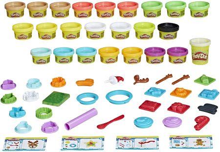 Play-Doh Adventskalender 2021 Inhalt