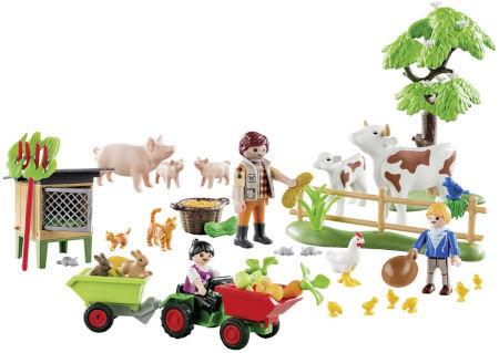 Inhalt PLAYMOBIL Adventskalender Auf dem Bauernhof