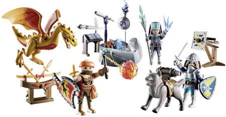 Inhalt Playmobil Adventskalender Kampf um den magischen Stein
