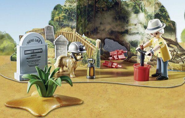 Playmobil Back to the Future III - Inhalt - Bild 1