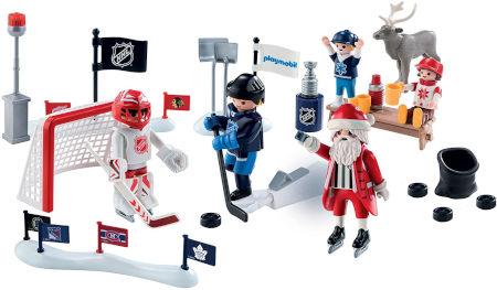 Inhalt PLAYMOBIL Eishockey Adventskalender