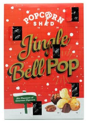 Inhalt Popcorn Shed Gourmet Popcorn Adventskalender