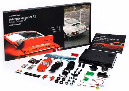 Inhalt PORSCHE Carrera Adventskalender 2020