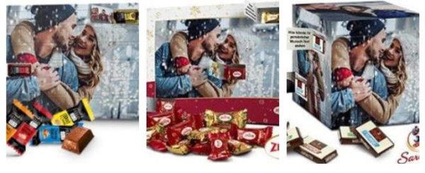 Printplanet Fotoadventskalender mit Schokolade