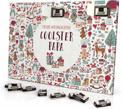 Schokoladen Adventskalender Printplanet coolster Papa