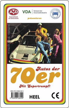 Quartett Autos der 70er