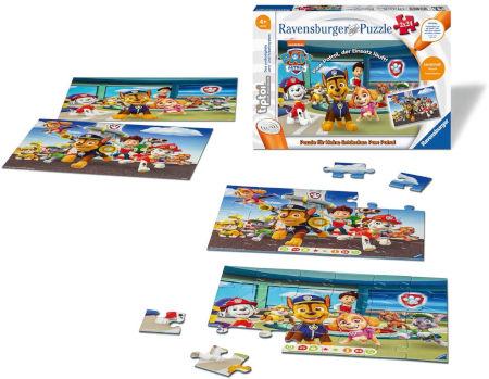 Ravensburger tiptoi Puzzle für kleine Entdecker: Paw Patrol Inhalt