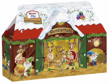 Kinder Mini Mix Kalender