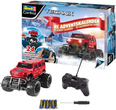 Inhalt Revell Control Truck Adventskalender 2019