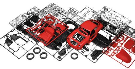 Inhalt Revell Porsche Adventskalender 2020