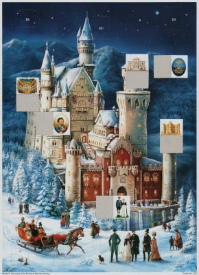 Inhalt Richard Sellmer Verlag Papier Adventskalender