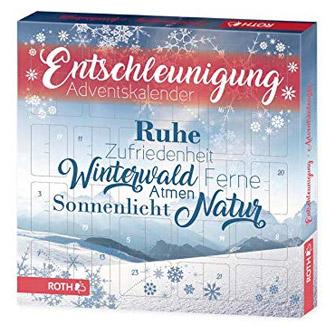 """Roth """"Entschleunigung"""" Adventskalender 2018"""