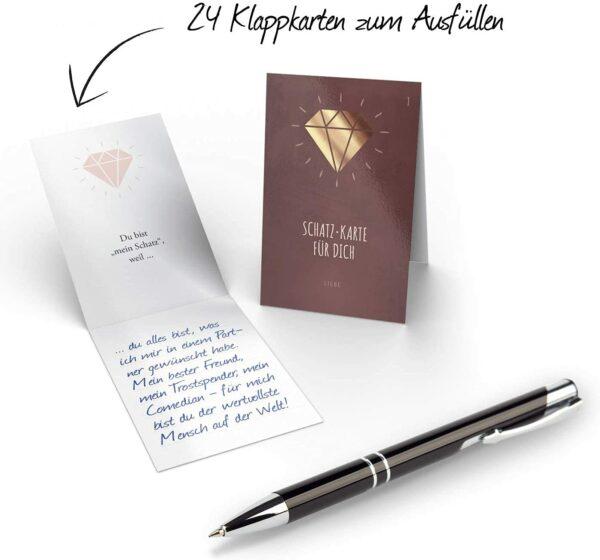 Schatz-Karten Adventskalender 2021
