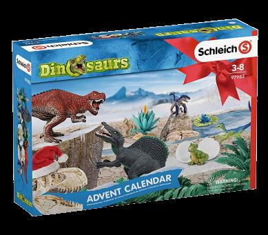 Schleich Weihnachtskalender.Schleich 97982 Adventskalender Dinosaurs 2019 Spielfigur Mehrfarbig