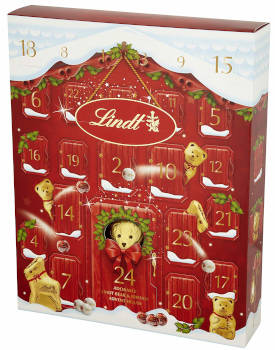 Schokolade Lindt Bären Adventskalender 2019