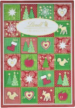 Schokolade Lindt & Sprüngli Mini-Tisch Adventskalender