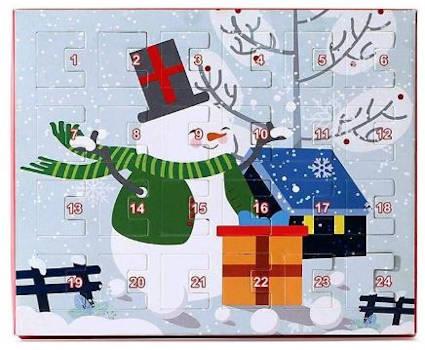 SH-Flying Weihnachten Schmuck Adventskalender für Mädchen Halskette und Armband Accessoire Set