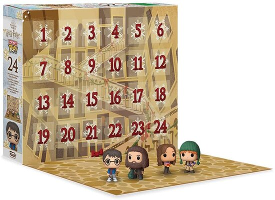 Inhalt Funko Harry Potter Adventskalender 2020