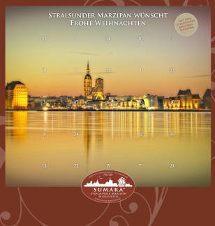 Stralsunder Marzipan Adventskalender 2019