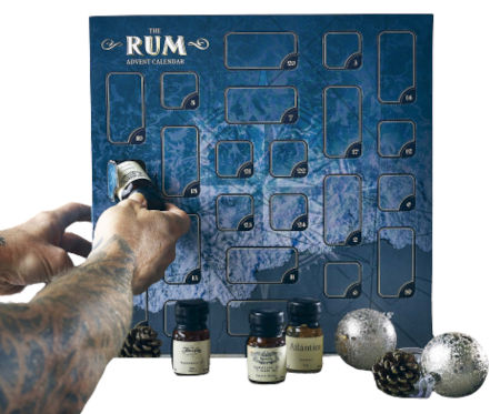 Inhalt The Rum Advent Calendar 2020