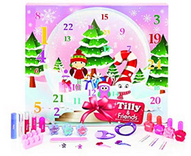 "Tilly & Friends Schneekugel ""24 Days of Beauty"" Adventskalender 2018"