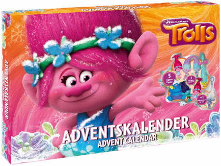 Beauty Kleinkinder Trolls Adventskalender