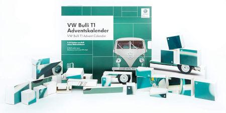 Inhalt VW BULLI ADVENTSKALENDER 2019