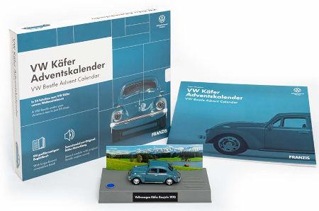 Inhalt VW Käfer Adventskalender 2020