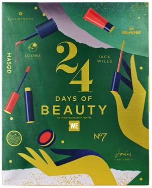WE 24 Days of Beauty Adventskalender 2018