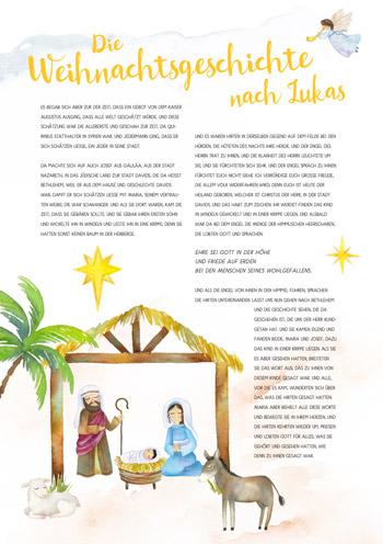 Weihnachtsgeschichte Lukas