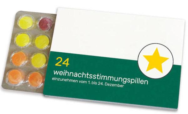 Weihnachtsstimmungspillen Mini Adventskalender To Go
