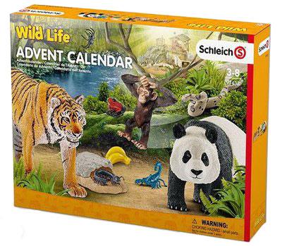 Schleich Adventskalender 2017 Wild Life