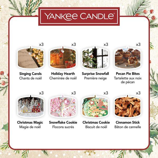 Yankee Candle Adventskalender Inhalt 2020 - Bild 1